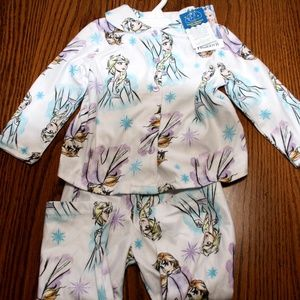 NWT Disney Frozen 2pc Pajama's 2T